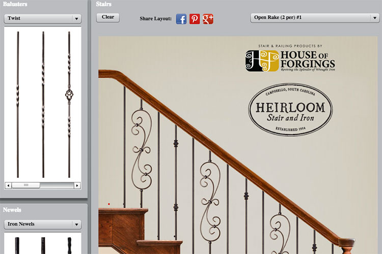 Our Stair Design Tool ...