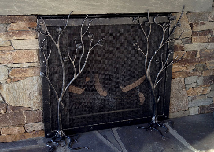 Fireplace Screen Handmade Fireplace Tools Hand Forged Design