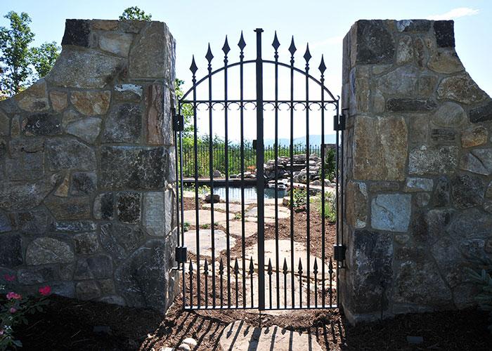 Iron Gates Walk Gates Garden Gates Hand Forged Design