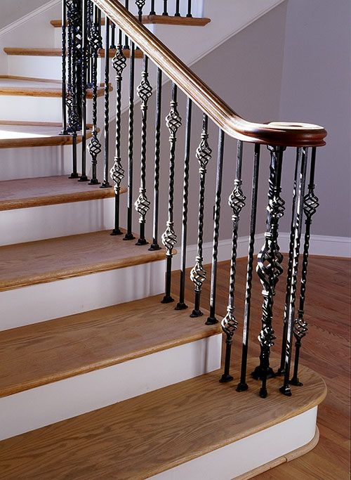 Iron Railings And Handrails Heirloom Stair Amp Iron