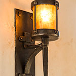 Anvil Mounted Sconce