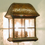 Extra Wide Walkway Lantern with Lower End Open