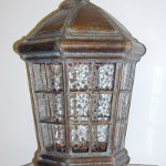 Cupola Pendant Lantern with Lower End Open