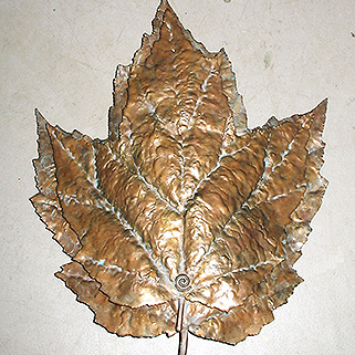 Maple Leaf Sconce