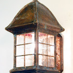Walkway Lantern with Lower End Open and Spear Point Finial